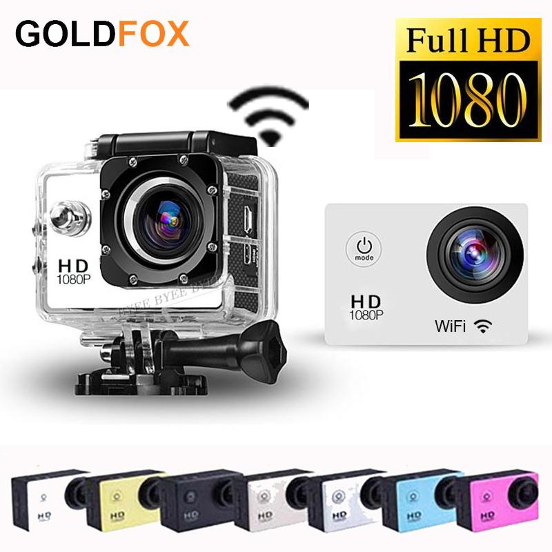 In Stock!Original WiFi Version SJ4000 Action Camera Diving 30M Waterproof Sport Camera 1080P Full HD Car DVRs Gopro Camera Style