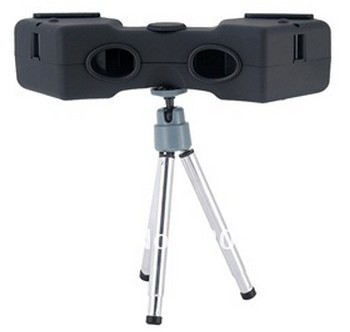 High-definition 3D Left/ Right Stereoscope Set for Computers (Black)+free shipping