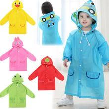 Cute Kids Rain Coat children Raincoat Rainwear/Rainsuit,Kids Waterproof Animal Raincoat 1pcs
