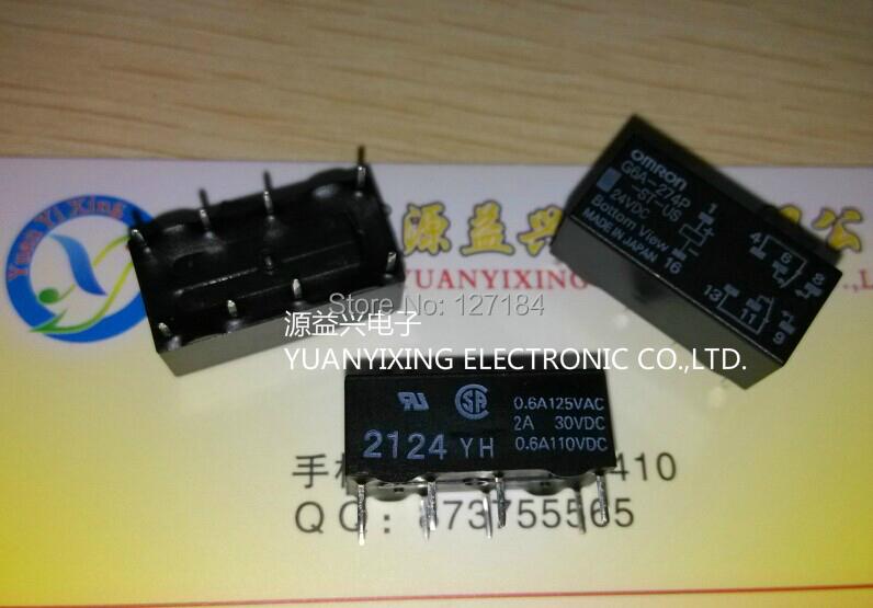 10PC/LOT  G6A-274P-ST-US-24VDC G6A-274P 24V Relays DIP8 Omron original <br><br>Aliexpress