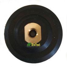 Dia 100mm Rubber back pad for flexible polishing pad