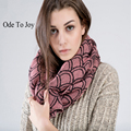 Ode To Joy New Fashion Unisex Women Ladies Men s autumn Winter Knitted Circle Loop