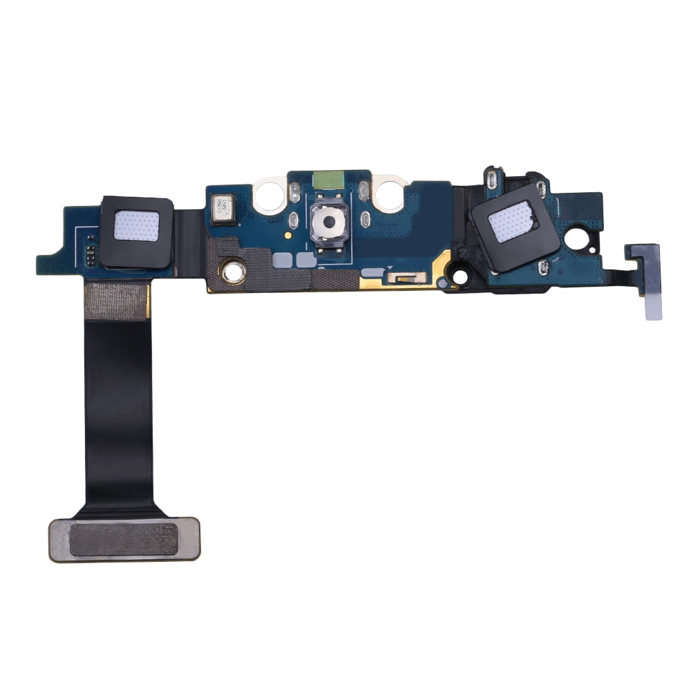 Good Quality USB Charging Board Flex Cable Microphone for Samsung Galaxy S6 Edge G925P(China (Mainland))