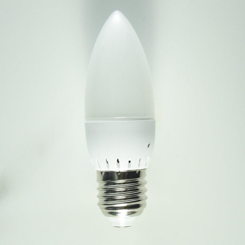 5pcs/lot led candle light 5W E14 E27 SMD2835 bulb tubes White / Warm White candle light lamp led bulb 220V/110V(China (Mainland))