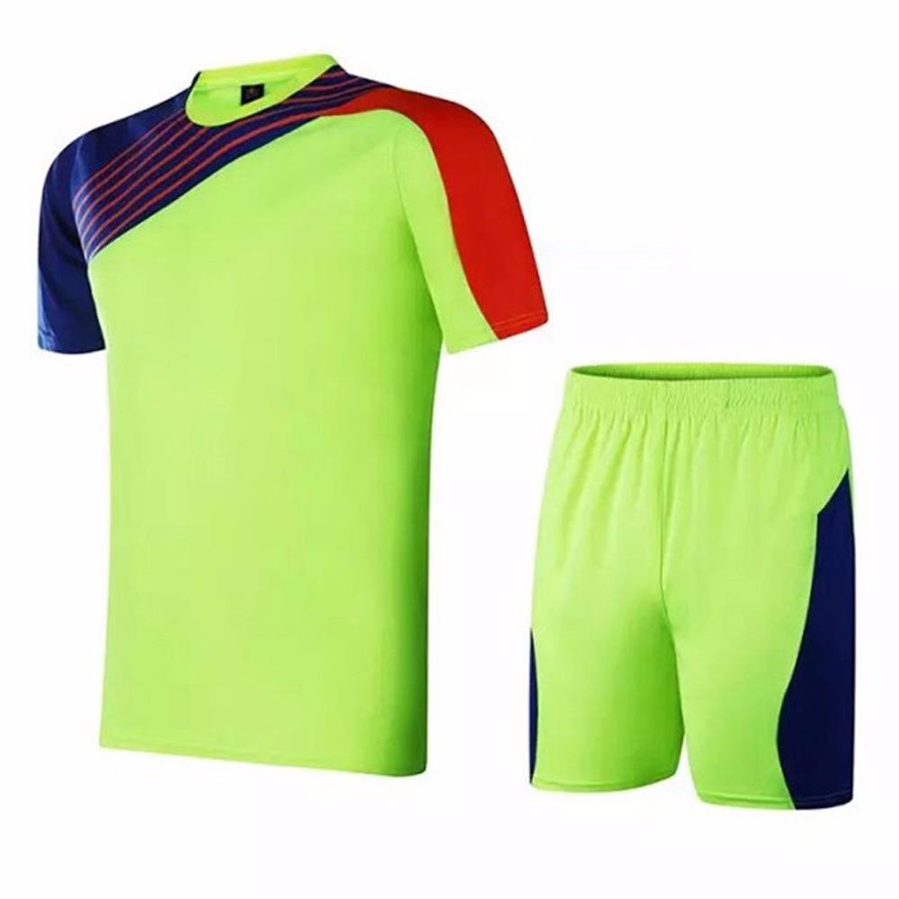 Short Sleeve Mens Football Jerseys Paintless Training Soccer Jerseys Sets Custom Football Jerseys Breathable Sports Wear Kits(China (Mainland))