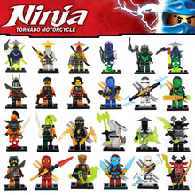 Decool ninjagoed Minifigures Cole Kai Jay Lloyd Nya Skylor Zane Pythor Chen Compatible Legoe Building Blocks Bricks set Toy - Love Store store