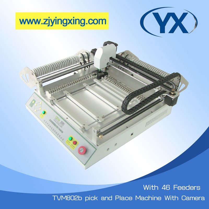 Led Flexible Light Making Robot From China Pick and Place Machine TVM802B SMT Equipment Used SMT Machine(China (Mainland))