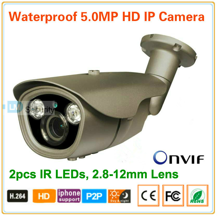 IP Camera 1920p Wifi 5MP 2592*1920P HD Dome Mini CCTV Megapixel Cameras 2.8-12mm Varifocal Lens P2P ONVIF with free CMS Software(China (Mainland))