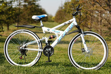 21 Speed 26 Inch Mountain Bike Aluminum Alloy Double damping disc brake Road Bicycle