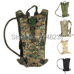 Wholesale Tactical New Hiking Cycling Hunting Military Leak Proof Hydration Water Pack Bag Backpack Airsoft Free Shipping(China (Mainland))