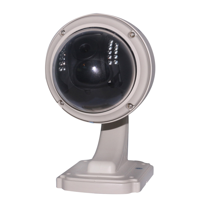 HW0028 H 264 ONVIF 3xOptical Zoom 1 0MP HD PTZ IR Cut Wireless WiFi 4 9MM