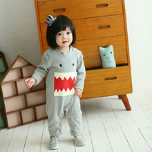 New arrival 100% pure cotton baby boys girls rompers newborn infant clothing long sleeve jumpsuit pajamas baby product