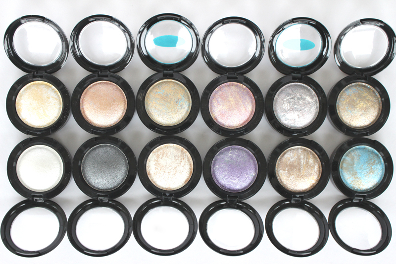 Brand MC Makeup Eyeshadow Powder Metallic Shimmer Warm Color Mineralized Pigment Eyeshadow Baked Grilled Smoked 12 Colors(China (Mainland))