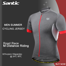 Buy SANTIC Professional Cycling Jersey Short Shirts Fitness Breathable Summer Spring MTB Bike Road Bike Clothing Tops Jerseys for $35.84 in AliExpress store
