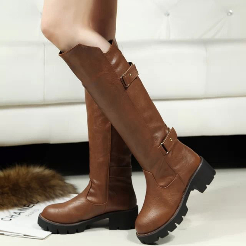 2015 New arrival winter women snow boots women long cotton boots winter women shoes fashion knee high boots for women XZ122<br><br>Aliexpress