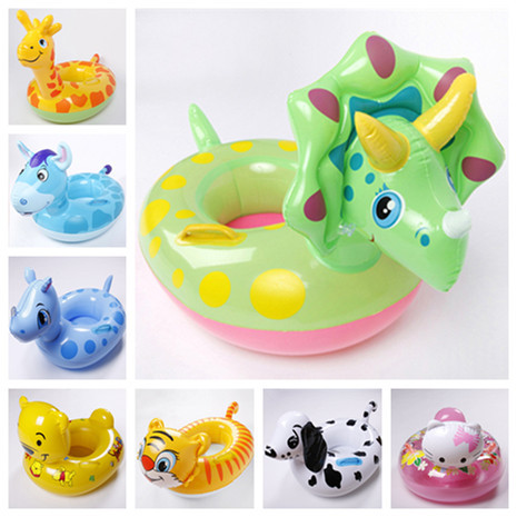 2015 New High Quality Baby Swim Ring With Seat Kids Swimming Ring Baby Boat 2 - 5 Years Old Children Inflatable Swimming Laps(China (Mainland))
