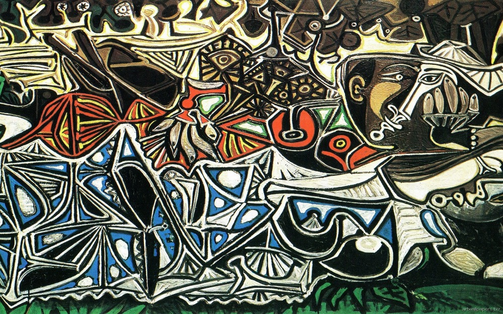 Pablo picasso abstract art
