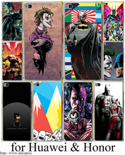 Buy Joker Kiss Batman Hard Transparent Case Cover Huawei P6 P7 P8 P9 Lite Plus & Honor 6 7 4C 4X G7 Case Cover for $1.07 in AliExpress store