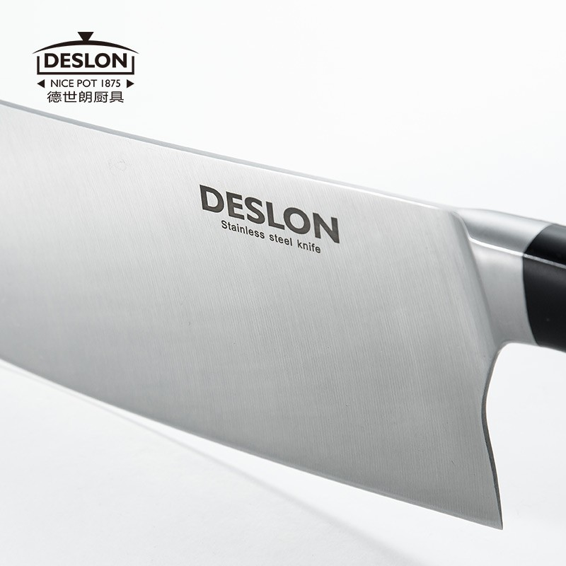 Buy Free Shipping DESLON High Quality Kitchen Cutting Knife Chef Slice Vegetable Meat Knife Household Multifunctional Cooking Knife cheap