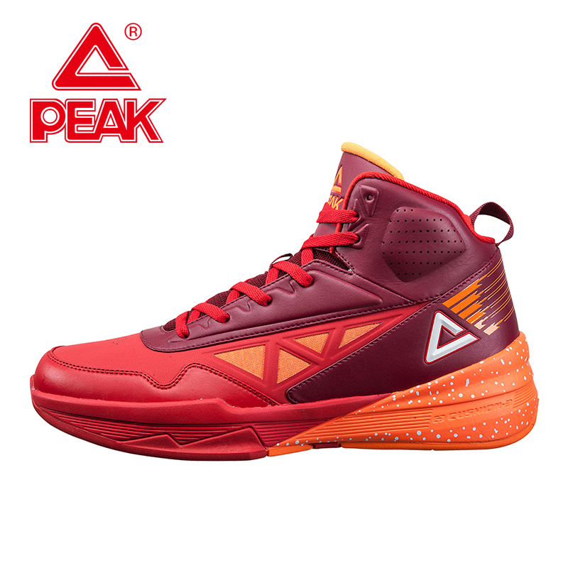 PEAK SPORT Men Basketball Shoes Authentic FOOTHOLD Cushion-3 REVOLVE Tech Sneakers Competitions Athletic Training Sports Boots(China (Mainland))