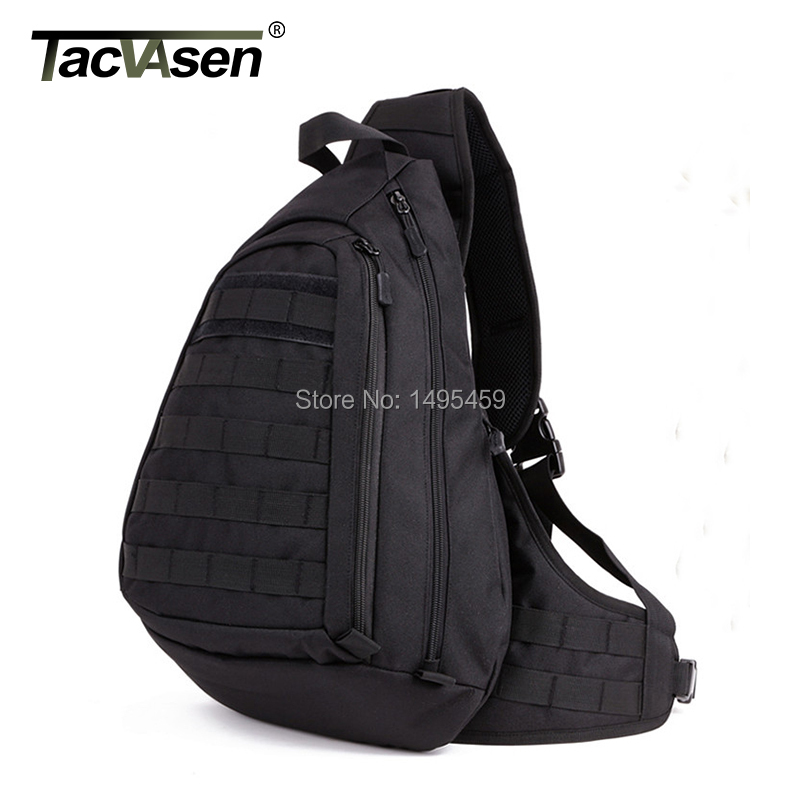 Military Tactical Bag Field Chest Sling Pack Outdoor Sport A4 One Single Shoulder Man Large Ride Travel Bag Advanced(China (Mainland))