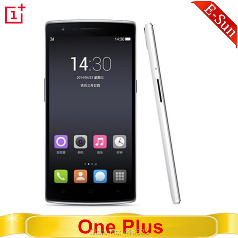 Original One Plus One 64GB 3GB RAM 16GB ROM 4G FDD LTE Snapdragon Android 4.4 Quad Core5.5'' FHD NFC Mobile Phone Cellphone(China (Mainland))