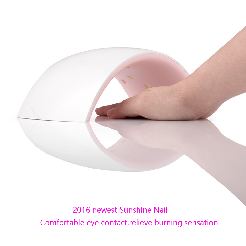 2016 newest 24W Sunshine Nail Gel Polish Curing Lamp Dryer for Nail Gel,Nail Tools, Nail Dryer(China (Mainland))
