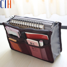 Charm in hand 2015 New Nylon Multifunction Makeup Bag Organizer Women Cosmetic Cases Outdoor Travel Bag Lady Cosmetic Bag LM2136(China (Mainland))