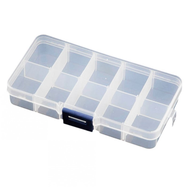 Adjustable Compartment Crafts Plastic Storage for Jewellery Art Tool Small Accessories -visually adjustable clearly storage box(China (Mainland))