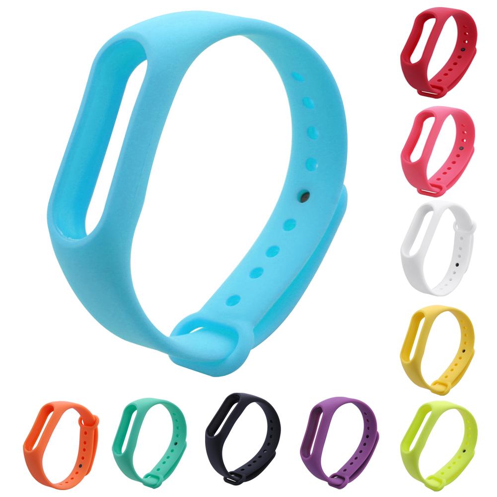 10 Colors Fashion Band Clasps  25*2 Cm Size Replacement TPU + TPE Wris