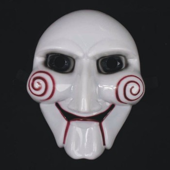 Saw Puppet Horror Scary Mask Chainsaw Massacre masks hot halloween cosplay costumes Masquerade cool!20pcs/lot