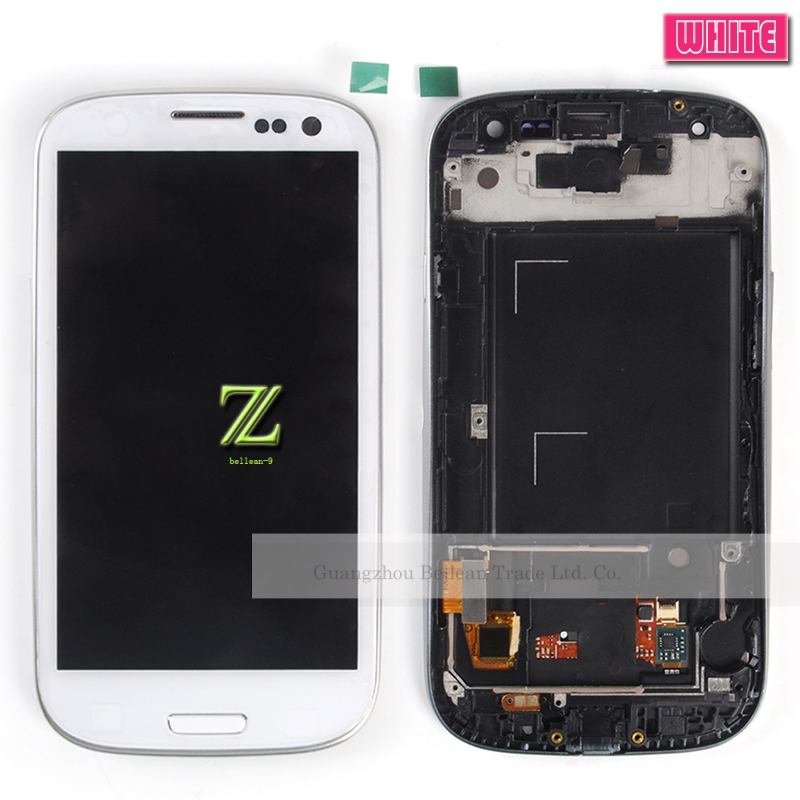 30% discount For Samsung Galaxy S3 i9305 i9301 i9300 Lcd Display Touch Screen With Bezel Frame Full Assembly Replacement+Tool(China (Mainland))