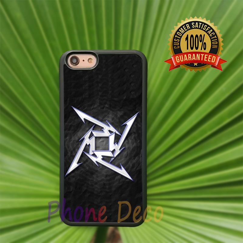Metallica American Heavy Metal Band fashion cell phone cases for iphone 4 4s 5 5s 5c 6 6s 6plus 6splus B4091(China (Mainland))