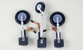 Freewing Me262 Scale electric retracts metal Landing gear set for Me-262 jet plane(China (Mainland))