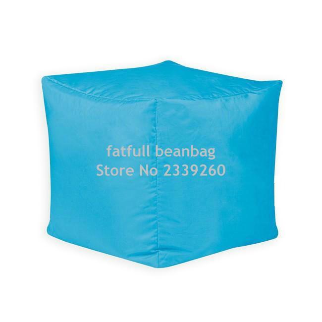 COVER ONLY NO FILLER - Aqua blue Top grade new com. - Online Get Cheap Ottomans Storage -Aliexpress.com Alibaba Group