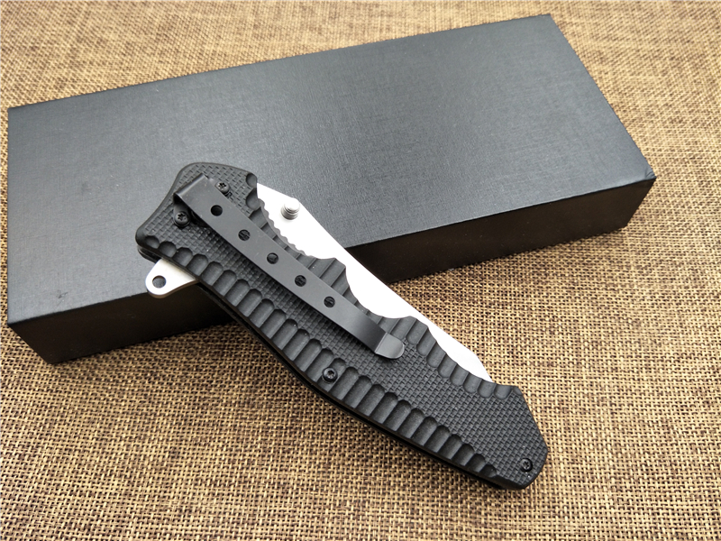 Buy KESIWO tactical folding knife 440C blade G10 handle FOX utility outdoor camping knife survival hand tool cheap