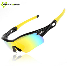 Buy ROCKBROS Polarized Cycling Bike Sun Glasses Outdoor Sports Bicycle Glasses Bike Sunglasses TR90 Goggles Eyewear 5 Lens, 3 Colors for $12.67 in AliExpress store