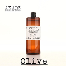 AKARZ Famous brand pure Olive oil natural aromatherapy high-capacity skin body care massage spa Olive essential oil(China (Mainland))