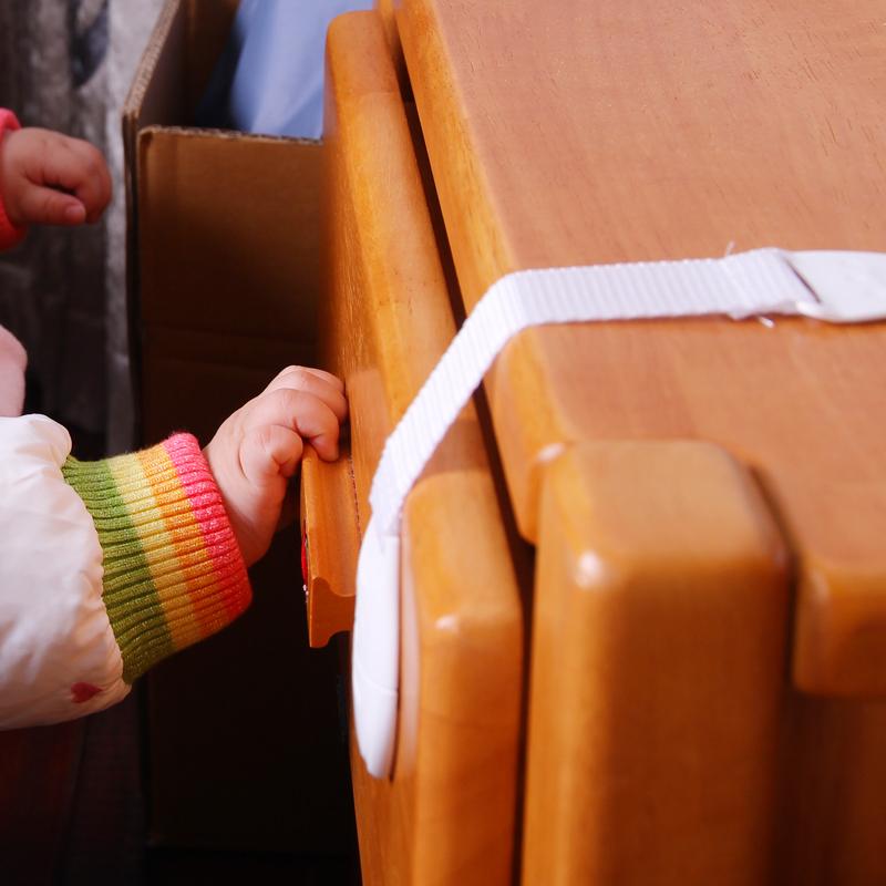 10 шт/упаковка Ремень безопасности для малышей Безопасные замки и ленты для ящиков дверей кабинета шкафа холодильника туалета
