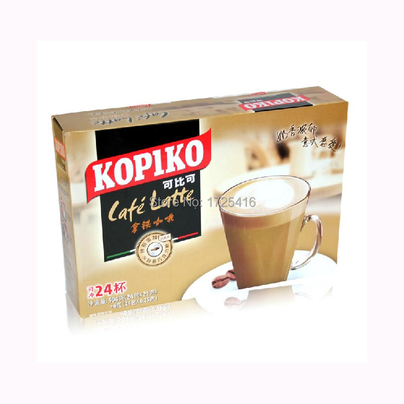 Indonesia imported KOPIKO comparable to instant coffee latte 504g free shipping