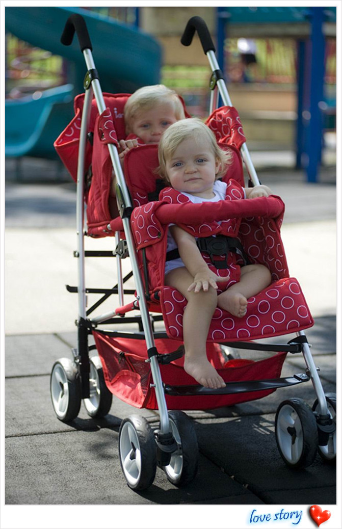 Stroller Doubles,Baby Comfortable Stroller for Twins,Luxury Brand Infant Double Strollers,2 Colors for Your Choice,Twin Pram<br><br>Aliexpress