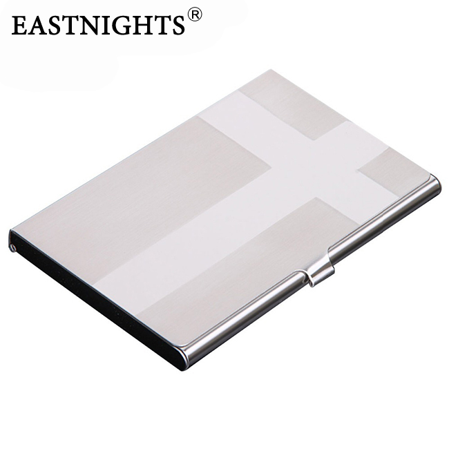 Factory Stainless Steel Name Card Case Business Holder Promotion Gift Sale can make customer logo - Sun Shine Leather Co., Ltd. store