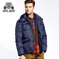 Brand clothing AFS JEEP white duck down jacket men 2016 new fashion Thick Winter mens down