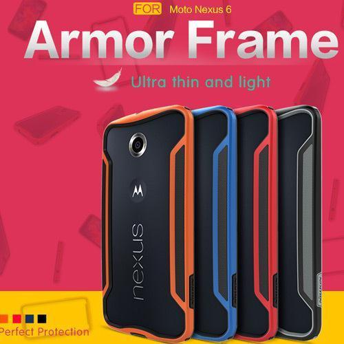 Nillkin Armor Border Series Luxury Phone Cases Cover For Motorola Google Nexus 6 Ultrathin Bumper Style Case For MOTO Nexus 6