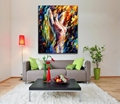 Sexy Woman Nude Body Art 100 Hand Painted Canvas Oil Paintings Modern Decorative Pictures for Living
