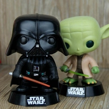 Star Wars Figures Darth Vader Action Toys Figures Yoda Alien Action Figures Anime 10cm Funko Pop Toys Hobbies Car Decoration(China (Mainland))