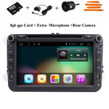 """Quad Core 1024*600 8""""2Din Car DVD For VW Volkswagen GPS Navigation Radio rds Video Audio BT Wifi Capacitive Touch Screen USB Map(China (Mainland))"""