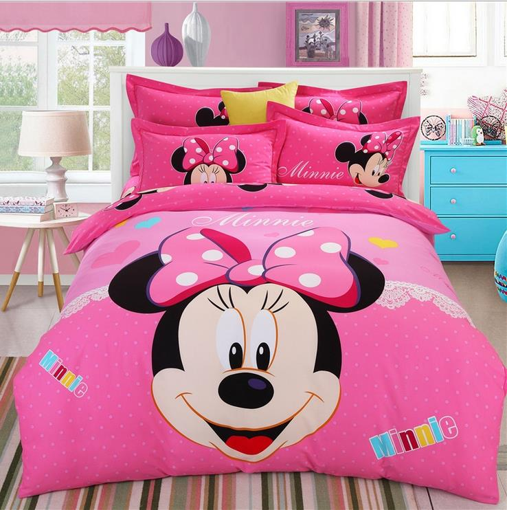 achetez en gros mickey minnie couette en ligne des. Black Bedroom Furniture Sets. Home Design Ideas