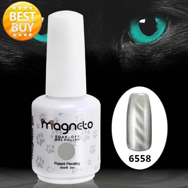 20pcs free shipping  color gel for nails soak off uv gel nail polish 3D gels (18 colors +1 Base +1 Top) Uv Magneto gel<br>