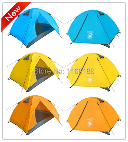 Ultra-light 1.8KG double layer bivvy tent 2 people camping tent for hiking trekking backpacking fishing tourist naturehike(China (Mainland))